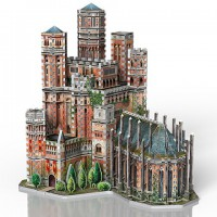 Le Donjon Rouge - Game of Thrones - puzzle 3D Wrebbit