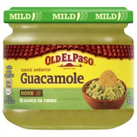 OLD EL PASO Guacamole - Purée d'avocats finement épicée - 320 g