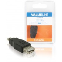 Port USB 2.0 USB A femelle – adaptateur mini USB à 5 broches mâle