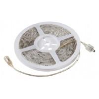 Corde de LED IP65 300 LED / mètre 5,00 m SMD 12 VDC rouge