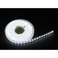 Corde IP65 300 LED/mètre 5,00 m SMD de LED 24 volts continu de blanc froid