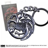 GOT - TARGARYEN porte-clés (gris acier)