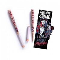 Harley Quinn - Stylo batte de Baseball et marque-pages - Sui
