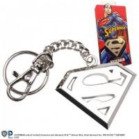 Porte-cles Logo Superman en acier