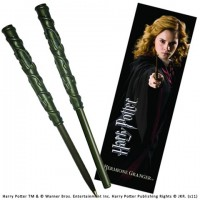 Stylo baguette & Marque-page Hermione