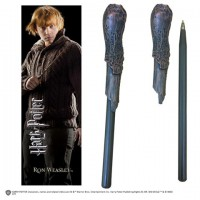 Stylo baguette & Marque-page Ron Weasley