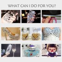 2 PCS 110 ml Multi-Fonction Colle Adhésive avec Aiguille pour DIY Fabrication de Bijoux Artisanat Strass Diamant Smart Phone Écr