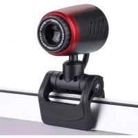 Webcam Full HD USB 2.0 avec Microphone Rotative à 360 MIC 16MP Caméra Web pour Chat Vidéo et Enregistrement pour Skype, Youtube