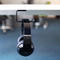 Autocollant Acrylique Casque Support Cintre sous Bureau Mural de Casque Holder Crochet écouteur Display Stand