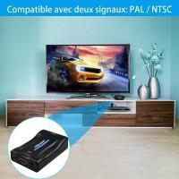 Adaptateur HDMI vers Scart, Convertisseur HDMI vers Péritel Compatible avec NTSC PAL HDMI1.3pour Sky HD Blu Ray PS3 TV VCR VHS