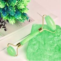 Rouleau de jade, Massager Jade Facial, Jade Roller Augmenter Circulation Sanguine, pour Votre Visage, Cou, Corps et Yeux Anti-âg
