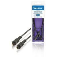 Câble audio numérique Toslink mâle vers Toslink mâle noir 2,00 m