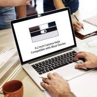 [Pack de 3] Cache Webcam, Webcam Cover Autocollant Coulissant Couverture de Caméra Frontale Ultrafin pour iPhone, iPad, Macbook,