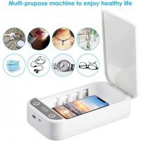 Stérilisateur UV Nettoyage Mobile Lumière UV Désinfection Portable Stérilisation Aromathérapie pour Masques Faciaux / Lunettes /