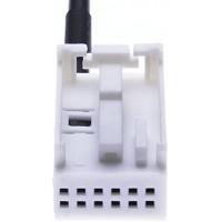 Cable Adaptateur Aux 3,5 mm Cble Connecteur Compatible avec Mercedes Radio Audio 20 APS / 30 APS / 50 APS/Comand APS NTG2 / AC28