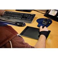 Gant Antifriction pour Tablette Graphique - modèle à Deux Doigts en Lycra résistant - Taille Unique