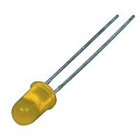 5mm de LED jaune diffusé