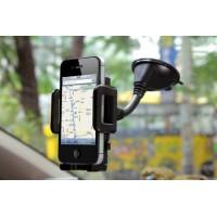 Support de téléphone Universel Flexible pour Pare-Brise de Voiture pour iPhone XS Max/Xs/Xr/X/8/7/6s Plus, Samsung S10/S9 Note,
