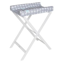 GEUTHER Table a langer pliable TRIXI blanche
