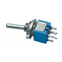 Interrupteur à bascule 6p 125 V 3 A