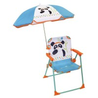 FUN HOUSE Chaise Parasol Indian Panda Pour Enfant