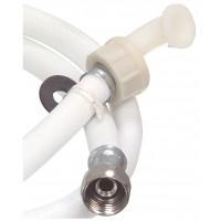 Inlet hose 1/2 straight - 3/4 straight 2.0 m