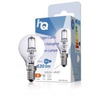 Lampe halogène boule E14 42W 630lm 2800K