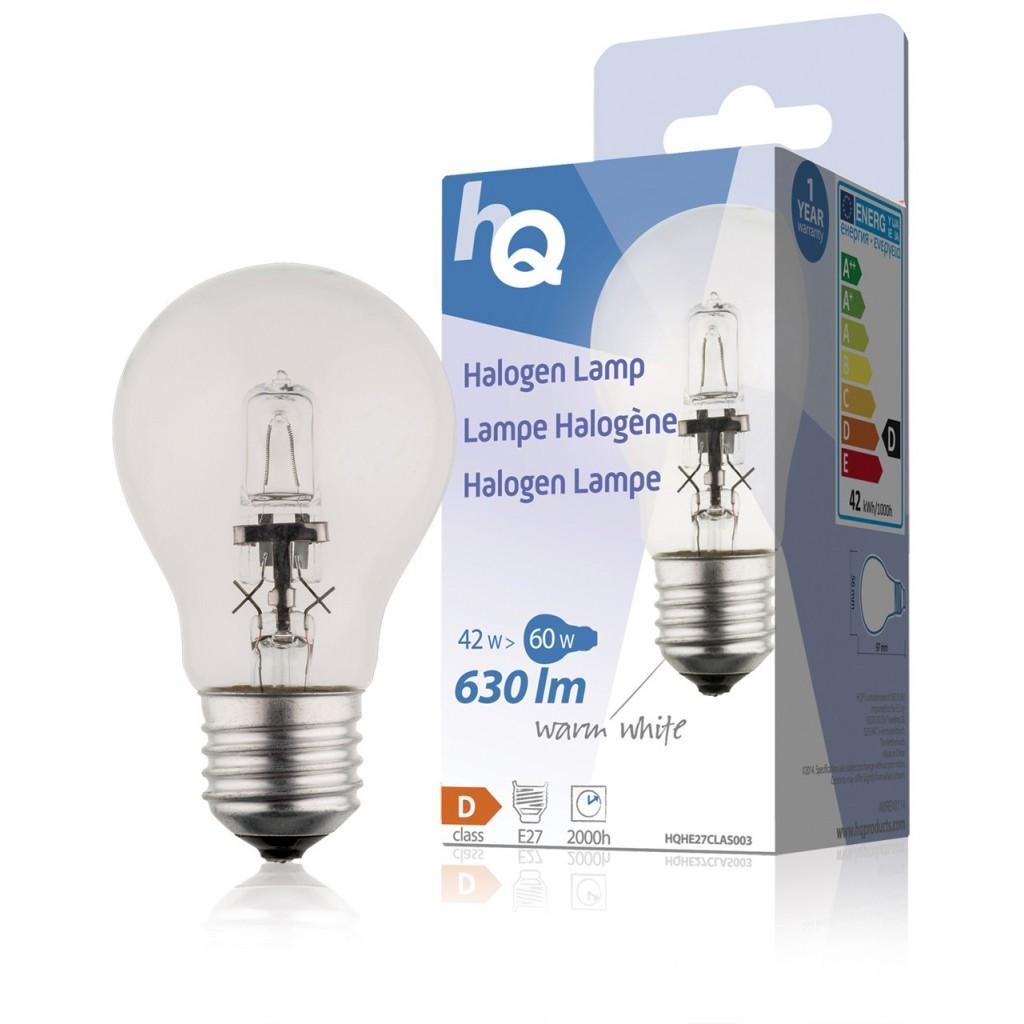36554 lampe halog ne 42w e27 gls classique 630lm 2800k remplacez les lampes incandescence. Black Bedroom Furniture Sets. Home Design Ideas