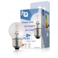 Lampe halogène boule E27 28W 370lm 2800K