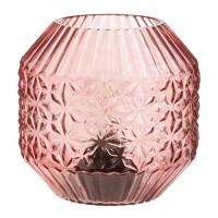Lampe a poser LED - Ø 15,5 cm - Rose