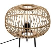 Lampe boule - E27 - 40 W - H. 31 cm - Beige