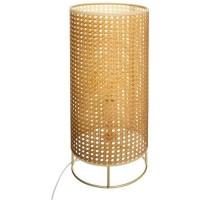 Lampe cannage Amel - H.52 cm