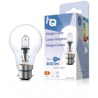 Lampe halogène GLS classique B22 53W 850lm 2800K