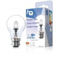 Lampe halogène GLS classique B22 28W 370lm 2800K