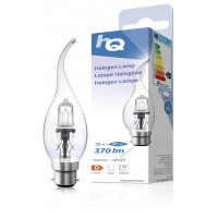 Lampe hamogène bougie à LED B22 28W 370lm 2800K