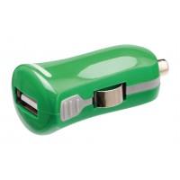 Chargeur USB A femelle pour USB pour voiture – connecteur vert 12 V pour voiture