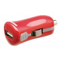 Chargeur USB A femelle pour USB pour voiture – connecteur rouge 12 V pour voiture