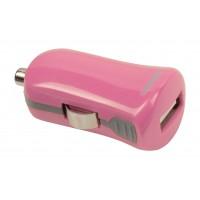 Chargeur USB A femelle pour USB pour voiture – connecteur rose 12 V pour voiture