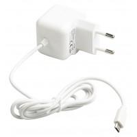 Chargeur micro USB mâle pour micro USB CA – connecteur CA blanc 1,00 m pour maison 2.1A