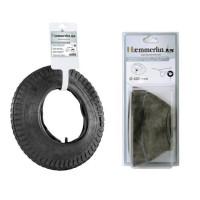 HAEMMERLIN Pneu + chambre a air pour brouette - Ø 400 mm adaptable Ø 380 mm
