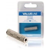 Coupleur audio Jack 3,5 mm métal femelle - femelle