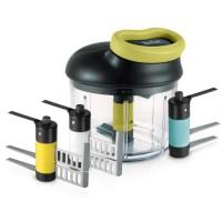 TEFAL HACHOIR 5 secondes Maxi Kit 900 ml (émulsion + glace + purée + lames multi-usages)K1321044