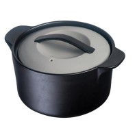 OGO Cocotte avec couvercle - 3L - Noir