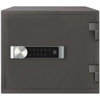 YALE Coffre-Fort Ignifuge a Serrure Electronique - Tactile - 1 Milliard Combinaisons - Format Domestique - 35 x 41 x 36 cm (19L)