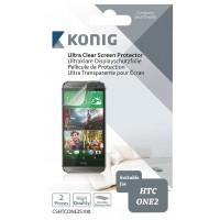 Pellicule de protection ultra transparente pour écran HTC One 2 (M8)