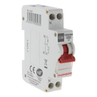 THOMSON Disjoncteur a vis PH+N - 20A NF - Pouvoir de coupure 4.5KA