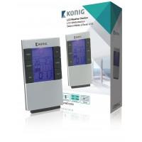 Horloge et station météo LCD