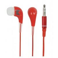 Écouteurs intra-auriculaires rouges