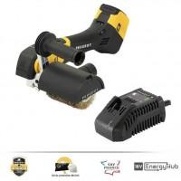 PEUGEOT OUTILLAGE Rénovateur Brushless Energybrush-18VBL