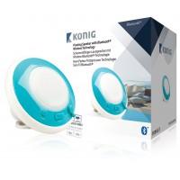 Haut-parleur Bluetooth flottant et étanche bleu